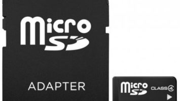 Micro SD Karte mit Adapter