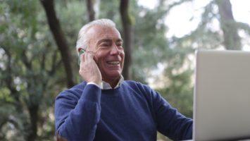 Senioren Internetnutzung während Corona